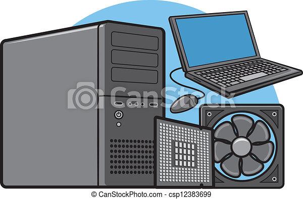 Computerausrüstung - csp12383699
