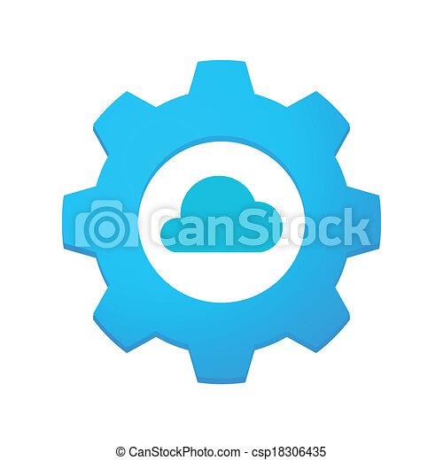 ausrüstung, ikone - csp18306435