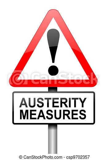 Austerity concept. - csp9702357