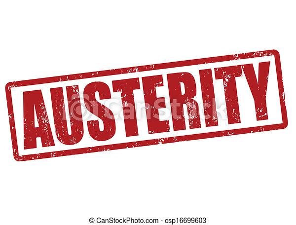 Austerity stamp - csp16699603
