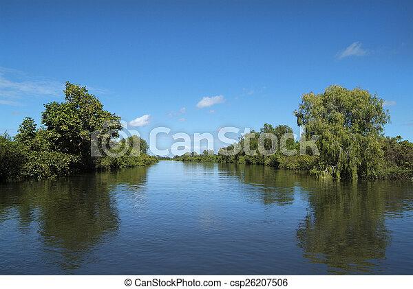 austrália, território, norte - csp26207506