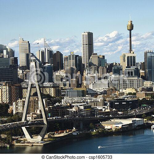 australia., シドニー - csp1605733