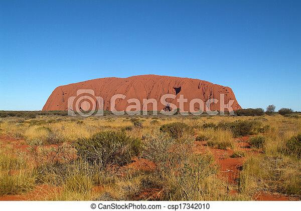 australia, ayers felsen - csp17342010