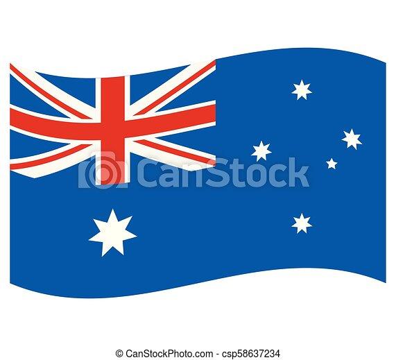 australia flag - csp58637234