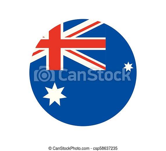 australia flag - csp58637235