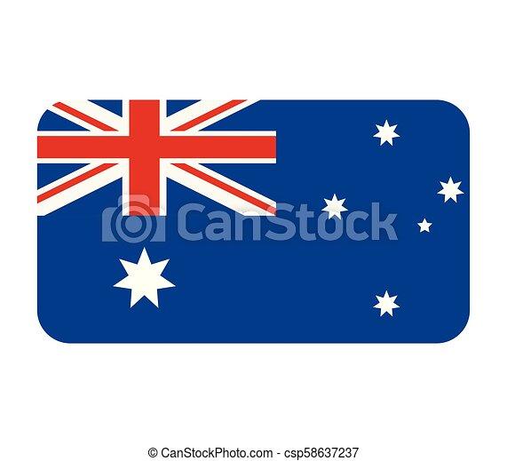 australia flag - csp58637237