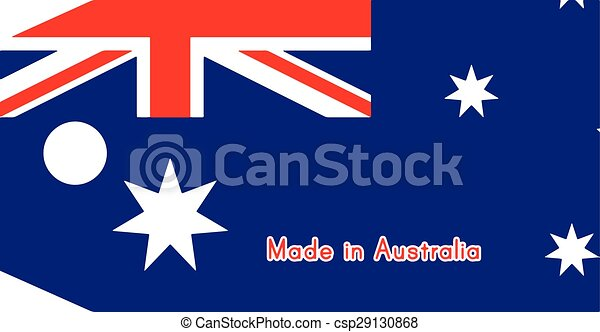 australia flag on price tag with word made in australia clip art rh canstockphoto com australia clip art free australian clip art