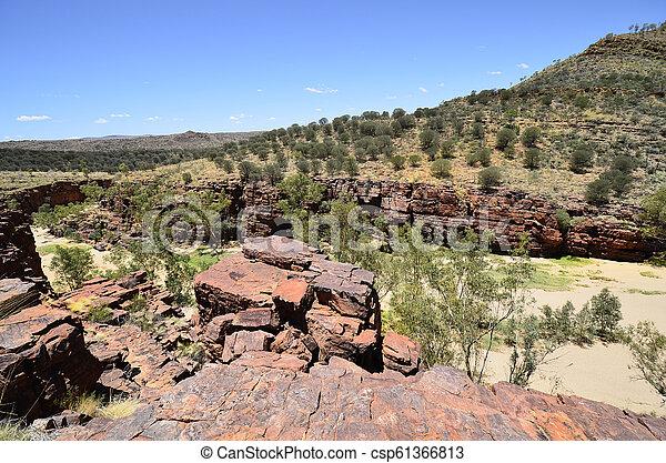 australia, gebiet, bereich, nördlich , mcdonnell - csp61366813