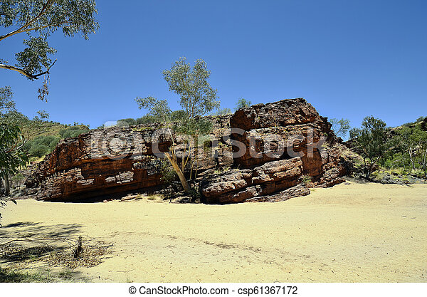 australia, gebiet, bereich, nördlich , mcdonnell - csp61367172