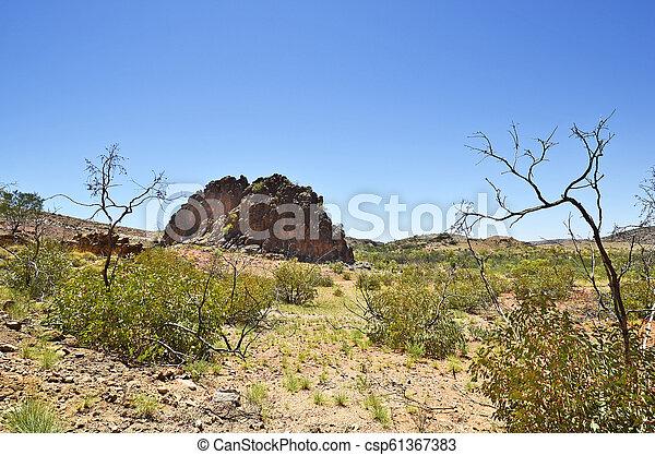 australia, gebiet, bereich, nördlich , mcdonnell - csp61367383