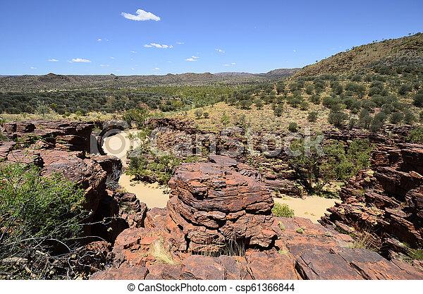 australia, gebiet, bereich, nördlich , mcdonnell - csp61366844