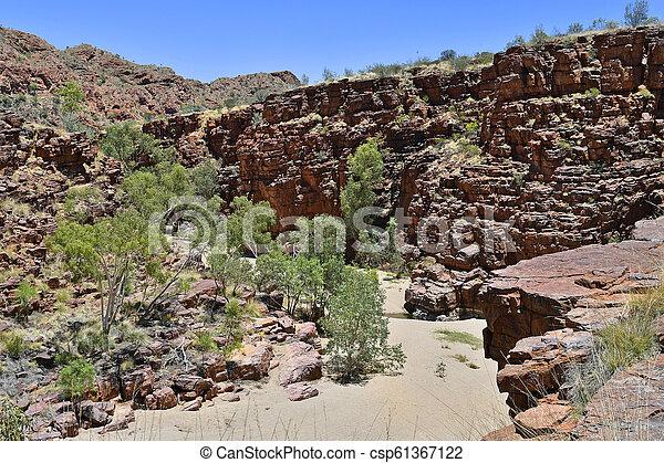 australia, gebiet, bereich, nördlich , mcdonnell - csp61367122