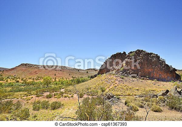 australia, gebiet, bereich, nördlich , mcdonnell - csp61367393