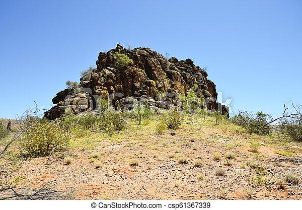 australia, gebiet, bereich, nördlich , mcdonnell - csp61367339
