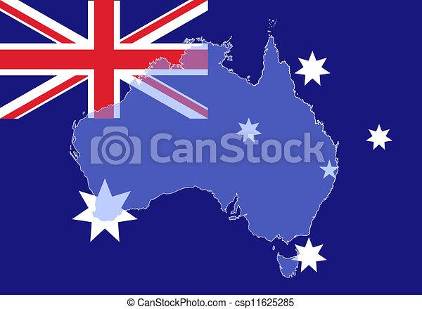 Australia map - csp11625285