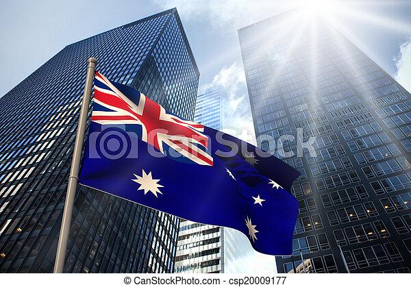 Australia national flag - csp20009177