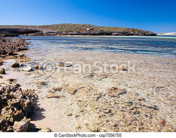Bahía Pondalowie, Parque Nacional Innes, Australia del Sur - csp7056755