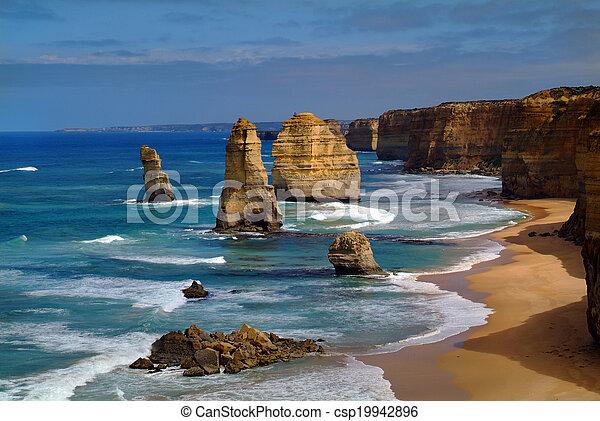 Australia, doce apóstoles - csp19942896