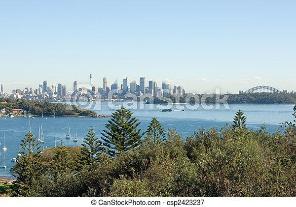 La bahía de Watson, Sydney, Australia - csp2423237