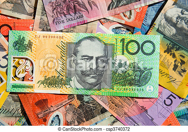 Australian Currency - csp3740372