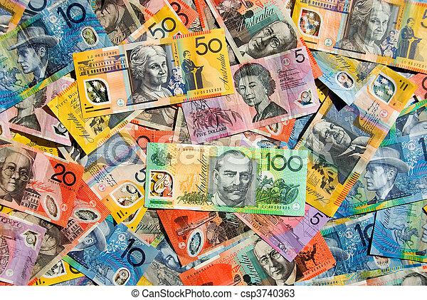 Australian Currency - csp3740363