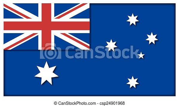 Australian Flag - csp24901968