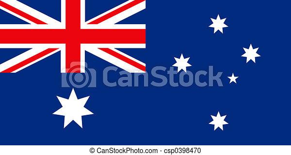 Australian Flag - csp0398470