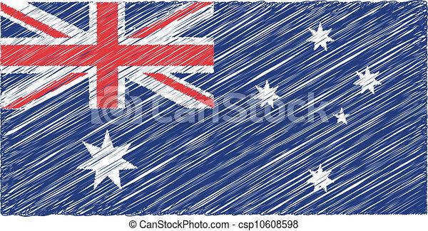 Australian flag - csp10608598