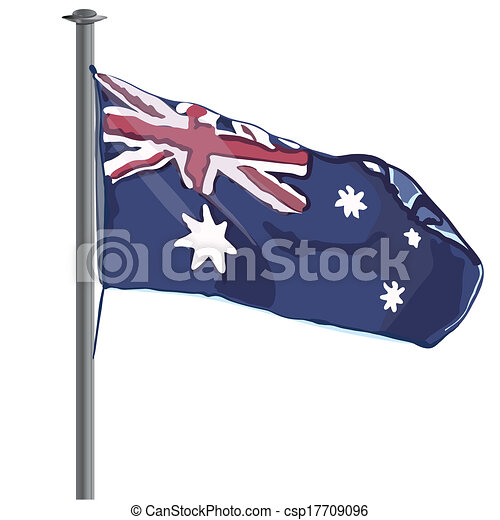 Australian Flag vector - csp17709096