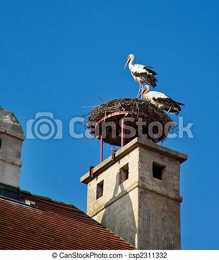 Austria, Burgenland, Stadtschlaiming - csp2311332