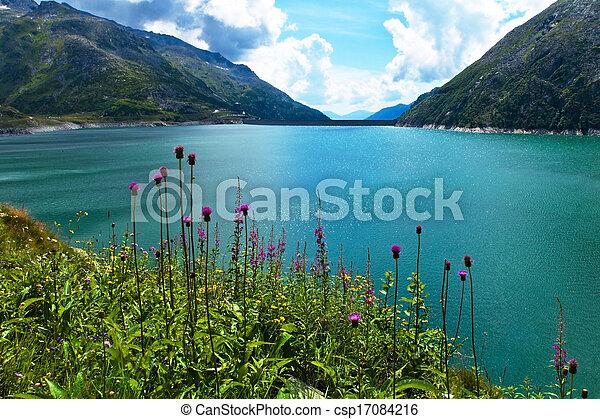 austria, carinthia, malta reservoir - csp17084216