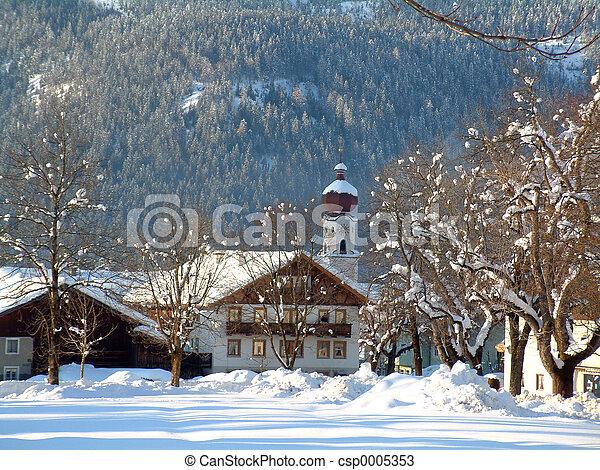 Austria in Winter - csp0005353