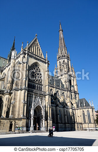 austria, linz, st. mary's cathedral - csp17705705
