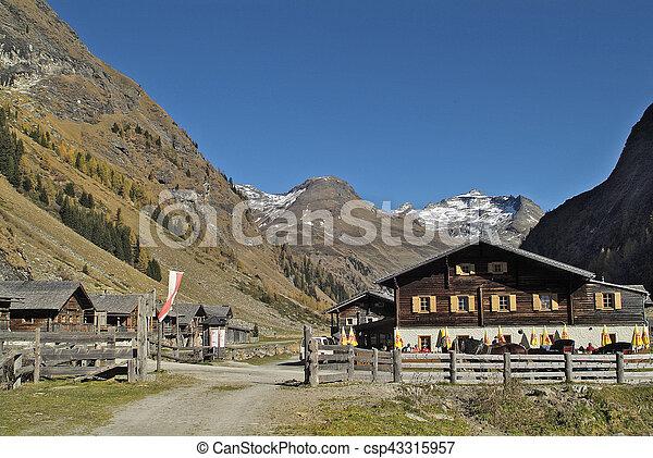 Austria, Osttirol, - csp43315957