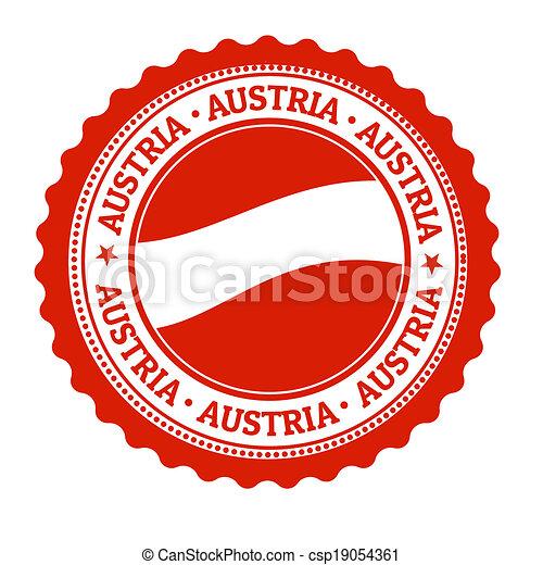 Austria Stamp Or Label