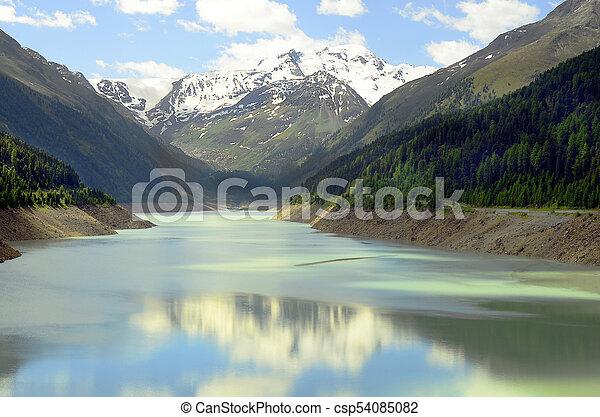 Austria, Tirol, Kaunertal - csp54085082