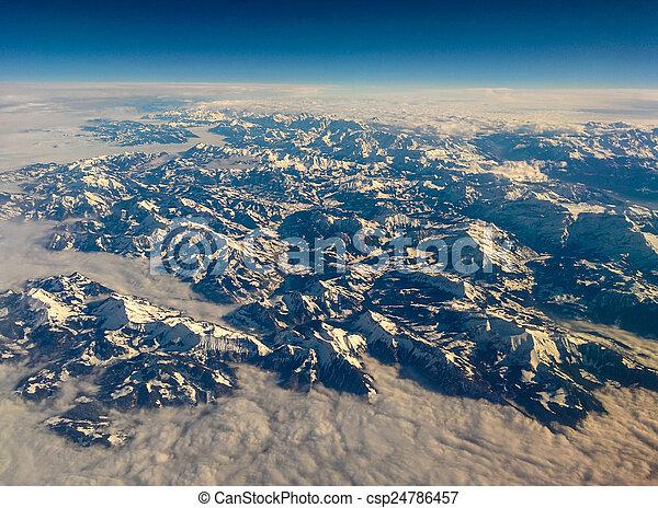 Austrian Alps - csp24786457
