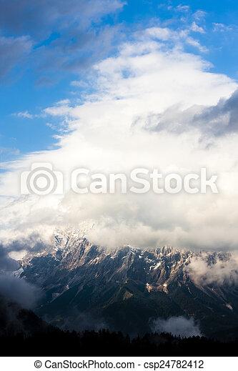 Austrian Alps, Tyrol, Austria - csp24782412