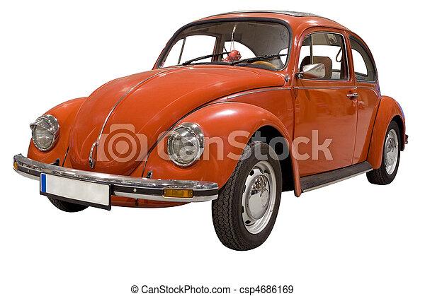 autó, 2, ajtó - csp4686169