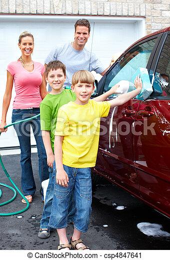 autó, család - csp4847641