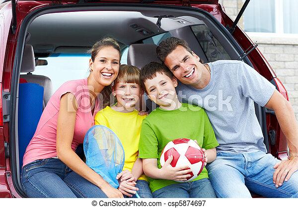 autó, család - csp5874697