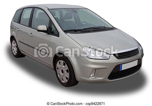 autó, család - csp9422871