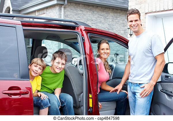 autó, család - csp4847598
