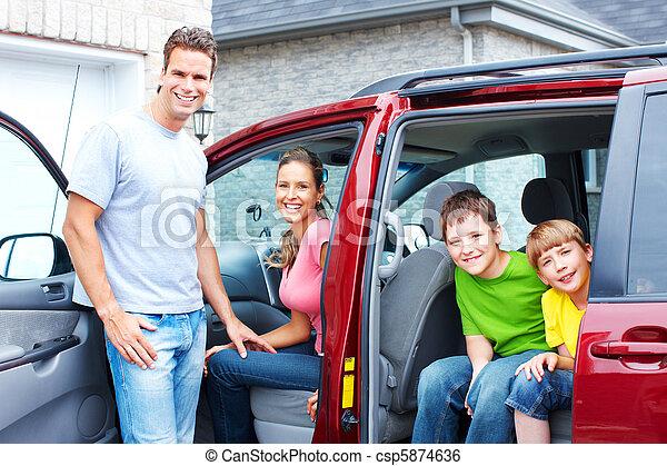 autó, család - csp5874636
