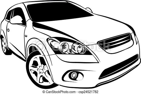 autó - csp24521782
