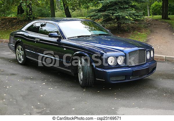 autó, fényűzés - csp23169571