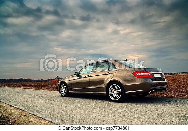 autó, fényűzés - csp7734801