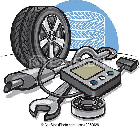 autó, fogalom, szolgáltatás - csp12383628