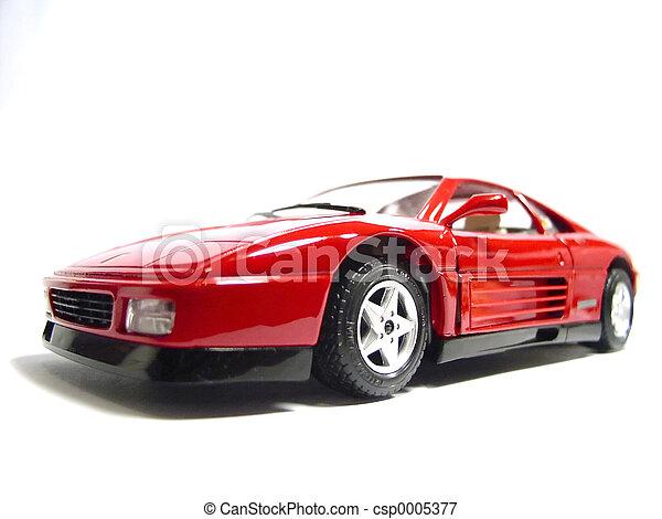 autó, játékszer, -, ferrari - csp0005377