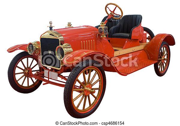 autó, klasszikus - csp4686154